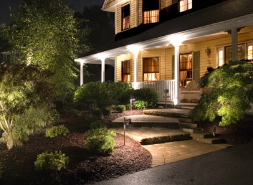 lightingoutdoorfrontporch - Landscape Lighting