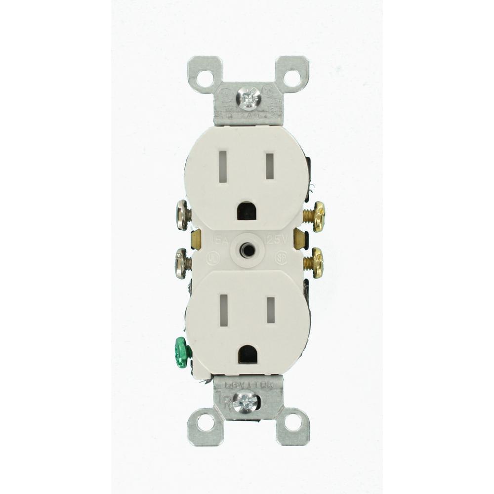 white leviton outlets receptacles m22 t5320 wmp - Receptacles